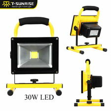 30W LED Rechargeable Portable Outdoor Camping Flood Light Spotlight Work Lamp