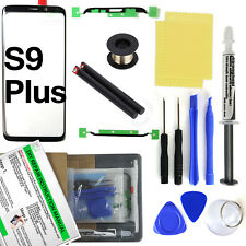 for Samsung Galaxy S9 Plus G965 Front Glass Screen Lens Replacement LOCA glue