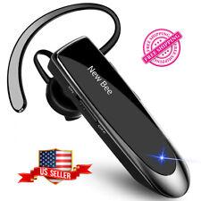 Bluetooth Earpiece Wireless Headset Handsfree Noise Cancelling Long Battery Life