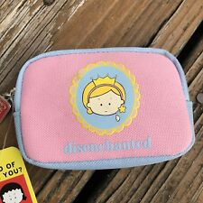 Angry Little Girls Disenchanted Princess Wallet Zipper Coin Purse Lela Lee Pink