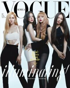 Vogue Korea 2021 June BLACKPINK Cover Whole Magazine