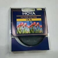 62mm Genuine HOYA Circular Polarizer Filter CIR-PL CPL 62 mm for Canon Nikon