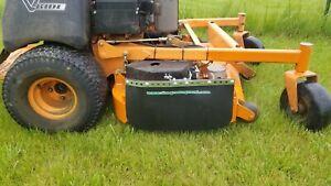 'The Green Guard' - Motorized Chute Blocker (w/ Rubber Guard)