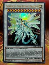 Yugioh Stardust Sifr Divine Dragon Ultra Rare MP17 1st Edition Near Mint