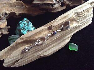 Spiral Goddess Silver Tone Dread Bead 7mm Hole Small Charm Dreadlock Dangle Cuff