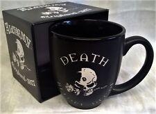 Alchemy Gothic Black Mug-Mort Avant Déca-horreur, squelettes & crânes cadeaux