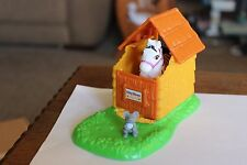 Rare Vtg Littlest Pet Shop Zoo Nursery Baby Zebra Kenner w mouse and house lot
