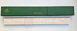 Vintage A.W. Faber-Castell 3/31 Statik Slide Rule Germany with BoxTop Rare