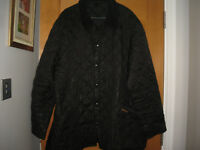"""BARBOUR  MENS BLACK QUILTED  JACKET,XXL,CHEST 54"""""""