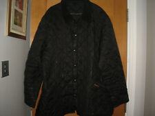BARBOUR  MENS BLACK QUILTED  JACKET,XXL,CHEST 54""