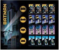 Batman DC Comics Sheet of 20 Forever Stamps Scott 4928-35