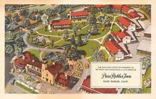 PASO ROBLES CA Paso Robles Inn Highway 101 Roadside California Vintage Postcard