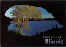 (vjr) Postcard: Cave-In-Rock State Park IL