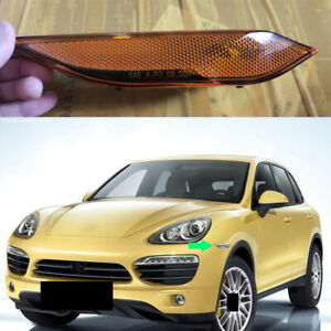1x For Porsche Cayenne 2010-14 Yellow Left Driver Turn Signal Lamp Cover No Bulb