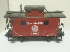 Denver Rio Grande Western Railroad 4 Wheel Bobber Caboose 4065 LGB 4065