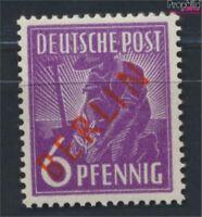 Berlin (West) 22 geprüft postfrisch 1949 Rotaufdruck (9223651