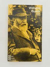 Joseph Kraus Wilhelm Busch rororo Bildmonographie Biographie