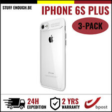 3IN1 Focus Cover Cas Coque Etui Silicone Hoesje Case For iPhone 6S Plus White