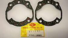 SUZUKI GT250 T250 T350 T302 TC305 BASE GASKETS 11241-18000 NOS JAP MADE GASKET