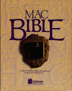 macBible RSV (81474) Software for Apple Macinstosh