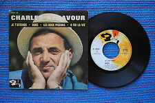 CHARLES AZNAVOUR / EP BARCLAY 70517 / LABEL 3 / BIEM 1963 ( F )
