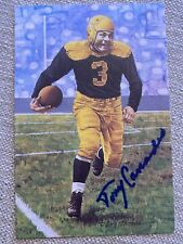 Tony Canadeo Packers Signed 1991 Goal Line Art Card Autograph Auto