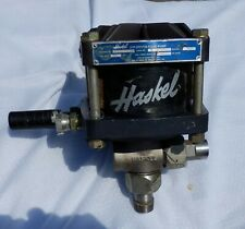 Haskel Air Driven Fluid Pump 15hp 80rpm 251 Ratio 150psi 4000psig Used