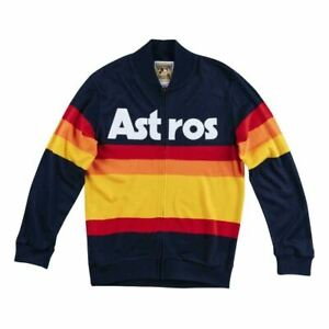 Mens Mitchell & Ness MLB Authentic Sweater Houston Astros