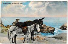 Ansichtskarte - geduldige Freunde - Pazienti amici in contemplazione - 1914