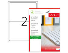 200 Shipping Labels 7.85x5.65 Square Corner Self Adhesive SUPPORT MICROSOFT WORD