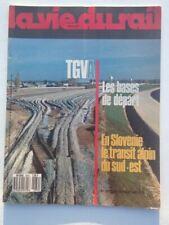 vie du rail 1987 2079 AUNEAU COURTALAIN CHALAMPE LA HUME SLOVENSKE ZELEZNICE GRU
