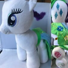 "My Little Pony Rarity Plush Soft Toy Build A Bear BAB 16"" Diamond"