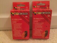 MMC Color Ink Cartridges GC-00021 Compatible For Canon, Apple, Multipass - 2 Pk