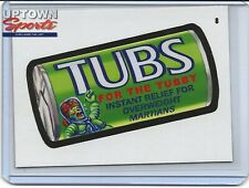 2020 Topps On-Demand Set #1 Mars Attacks Wacky Packages - CARD 8 TUBS