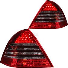 LED Rückleuchten Set Mercedes C Klasse W203 Limousine Bj 00-04 rot smoke schwarz