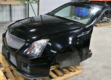 2009-2014 Cadillac CTS-V Complete Front End Body Clip Black Hood Bumper Fenders