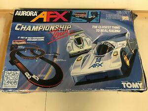Tomy Aurora AFX Championship Tour Slot Car Racing Set 1989 Missing 1 Support