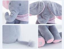 Peek-a-boo Elephant Sing Play Baby Plush Toy Stuffed Animated Soft Toys