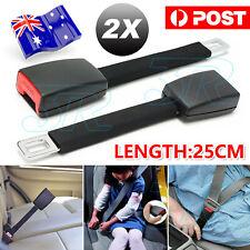 2x Seat Seatbelt Safety Belt Extender High Strength Car Extension Buckle Clip