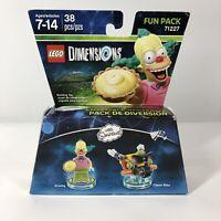 LEGO DIMENSIONS THE SIMPSONS KRUSTY THE CLOWN & CLOWN BIKE FUN PACK 71227