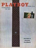 PLAYBOY SEPTEMBER 1958 Teri Hope June Wilkinson Lisa Winters Linda Vargas (3)