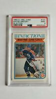 1982 O-Pee-Chee OPC Hockey #107 Wayne Gretzky In Action PSA9 MINT