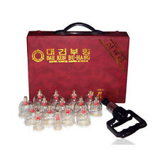 Daekun Massage Cupping Set 15 Cups High Quality Relief Pain / Vacuum Therapy