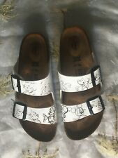 RARE! DISNEY MICKEY SKETCH Birkenstocks (Arizona) Sandal 40N US 8.5