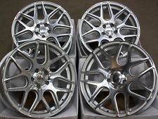 "ALLOY WHEELS X4 18"" SILVER CRUIZE CR1 FOR PEUGEOT 308 407 508 EXPERT TEPEE SCUDO"