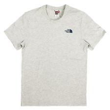 The North Face Hombres Camiseta Simple Dome Top Parte Superior Rojo Etiqueta