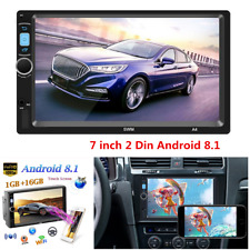 7inch Android 8.1 Car Radio Stereo GPS 2Din HD Touch Screen MP5 Player FM WIFI