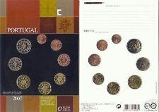 2007 Ufficiale 8 monete 3,88 EURO PORTOGALLO fdc portugal Португалия 葡萄牙 ポルトガル