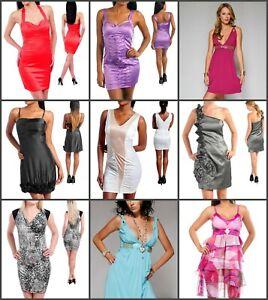 Wholesale  lot 9 piece  new dresses summer cocktail party clothes woman summer