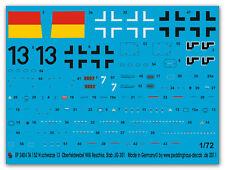 Peddinghaus 2484 1/72 ta 152 H NERA 13 Choozoo Willi Reschke 9 JG 301